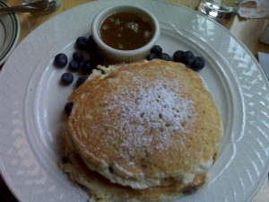 Clinton St. Blueberry Pancakes