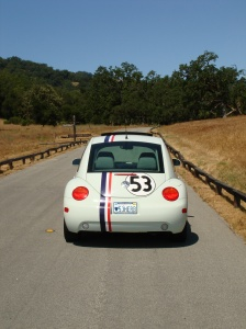 Driving the Santa Lucia Preserve