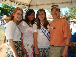 Me with the County Dairy Princesses