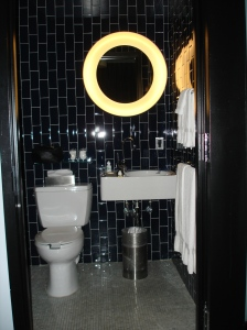 The Black Bathroom