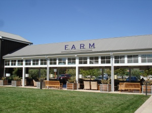 Hotel review the carneros inn napa ca route 53 for The farm restaurant napa