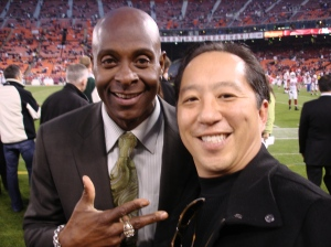 Jerry Rice #80 and me